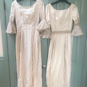Dresses & Skirts - Pair of 1930's Authentic Bridesmaids Dresses